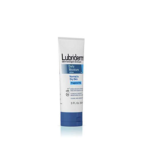 Lubriderm Fragrance Free Daily Moisture Lotion, 3 Ounce - 12 per case.