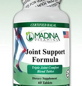 Madina Vitamins - Halal Joint Support Formula (60 Tablets Supplements) by Madina Vitamins