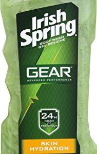 Irish Spring Gear Body Wash, Hydrating, 18 Ounce