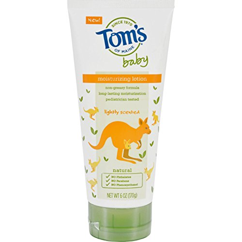 Toms of Maine Lotion - Baby - Moisturizing - Lightly Scented - 6 oz - Yeast Free-Wheat Free-