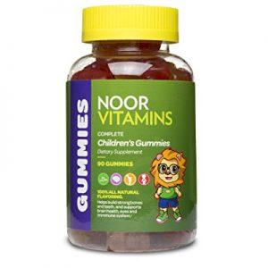 NoorVitamins Gummies Complete - 90 Count - Children's Gummy Multivitamins - Halal Vitamins