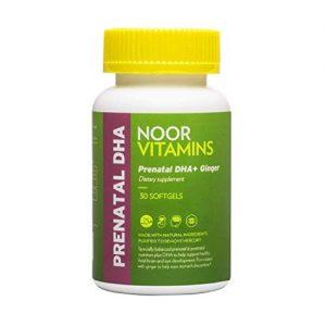 NoorVitamins Prenatal with DHA - 30 Softgels - Halal Certified Vitamins