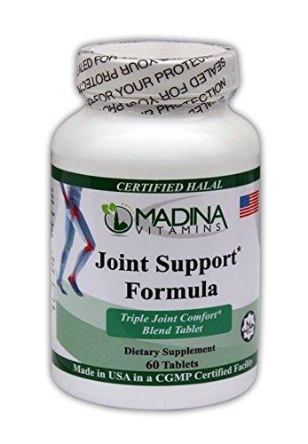 Halal Joint Support Formula - Made in USA by Madina Halal Vitamins