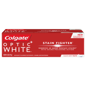 Colgate Optic White Toothpaste, 4 Ounce