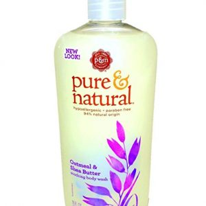 Pure & Natural Body Wash Oatmeal and Shea Butter 16 Fl Oz