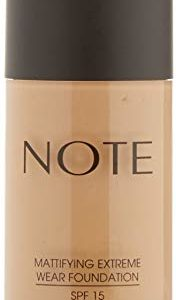 NOTE Cosmetics Mattifying Extreme Wear Foundation Pump, No. 08, 1.18 Fluid Ounce