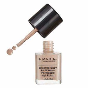Amara Breathe Easy Air & Water Permeable Nail Polish (Sand Tropez)