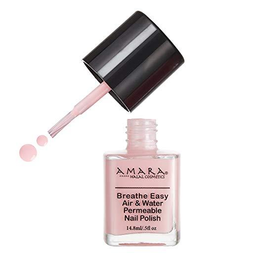 Amara Breathe Easy Air & Water Permeable Nail Polish (Pink Daisy)