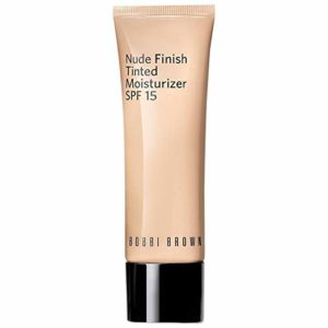 Bobbi Brown Nude Finish Tinted Moisturizer SPF 15 Medium Tint for Women, 1.7 Ounce