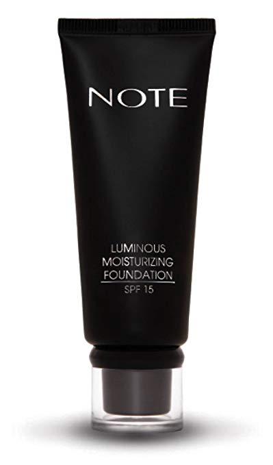 NOTE Cosmetics Luminous Moisturizing Foundation, No. 04, 3 Ounce