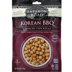 Saffron Road - Korean Bbq Chickpeas (12-6 oz bags) Korean Bbq Chickpeas