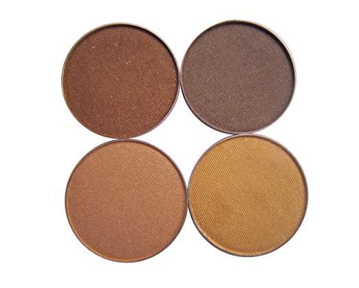 Amara Press Eye Shadow Palette (Quad)-Golden Sunrise