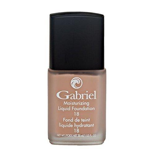 Gabriel Cosmetics, Foundation Liquid Natural Beige, 1 Fl Oz