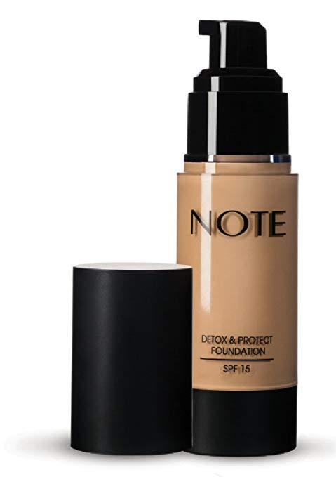 NOTE Cosmetics Detox & Protect Foundation, No. 01, 3 Ounce