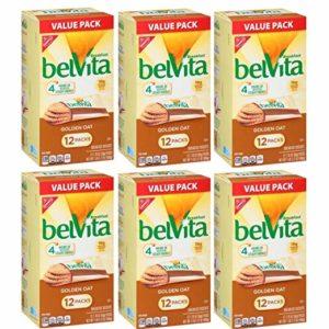 Nabisco belVita Breakfast Biscuits Golden Oat - 12 PK, 1.76 OZ - 6 count