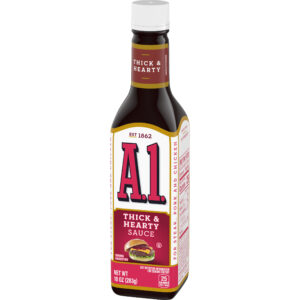A1 Thick & Hearty Steak Sauce 10 oz (Pack of 3)