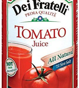 Dei Fratelli Tomato Juice 46FZ (Pack of 12)