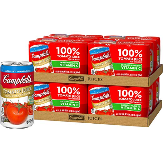 Campbell's Tomato Juice, 5.5 oz., 6 Count