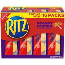Nabisco Ritz Peanut Butter Cracker Sandwiches