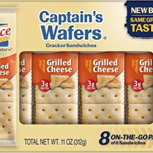 Lance Grilled Cheese on Captain Wafers Sandwich Crackers, 11 oz