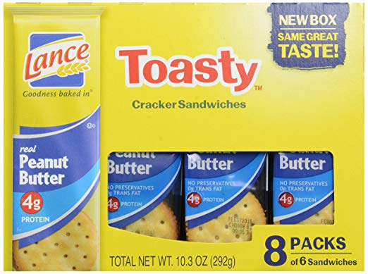 Lance Toasty Sandwich Crackers, 10.3 oz