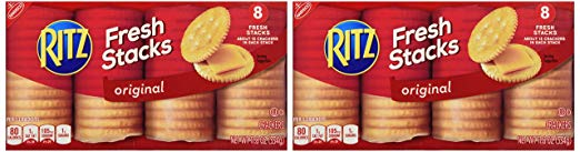 Nabisco Ritz Fresh Stacks (2 Pack) 8 Fresh Stacks Per Box