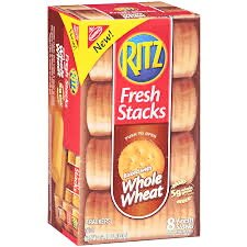 Nabisco Ritz Fresh Stacks Whole Wheat Crackers, 12.47 Oz. (2 Pack)