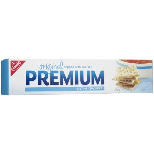 Premium Nabisco Premium Original Saltine Cracker Pack - 4 oz