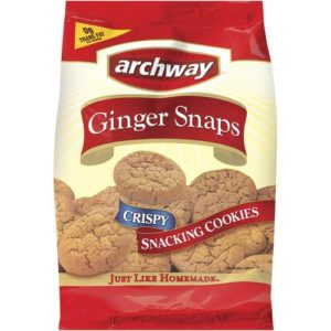 Archway Classics: Crispy Gingersnap Cookies