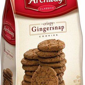 Archway Cookies, Gingersnap Cookies, 12 Ounce