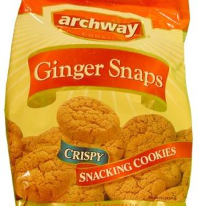 Archway Ginger Snaps Cookies, 14 oz