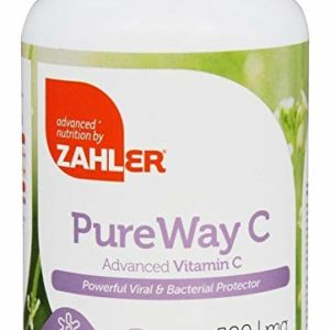 Zahlers Kosher PureWay-C 500 mg Vitamin C - 120 Capsule