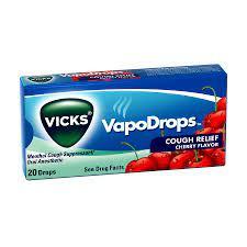 Vicks Vapodrops Cough Relief Cherry 20Drops