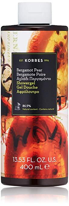 KORRES Bergamot Pear Showergel, 13.53 fl oz