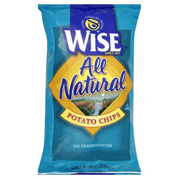 Wise Foods Golden Original Potato Chips 9.0 oz. Bag (3 Bags)
