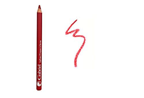Gabriel Cosmetics, Lipliner Red, 0.04 Ounce