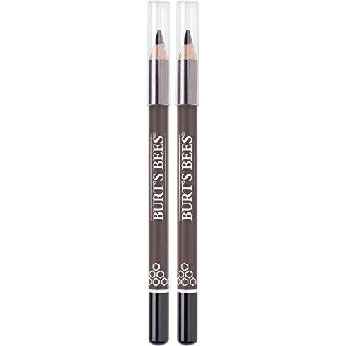 Burt's Bees Nourishing Eyeliner, Soft Black - 0.04 Ounce (Pack of 2)