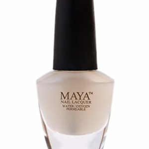"MAYA Nail Lacquer (Matte Top Coat). Breathable, Made in the USA, and ""9-FREE"""