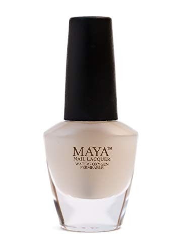 """MAYA Nail Lacquer (Matte Top Coat). Breathable, Made in the USA, and """"9-FREE"""""""
