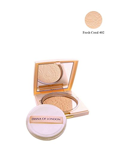 Diana of London Absolute Stay Compact Powder 402 Fresh Coral