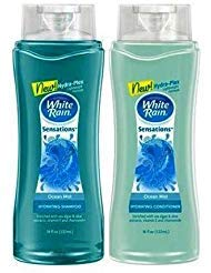 White Rain Sensations Hydrating Shampoo and Conditioner Set - Ocean Mist - 15 Fl Oz Each