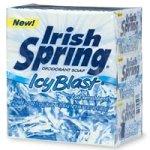 Irish Spring Deodorant Bath Bar, Icy Blast, 4.5 Ounces Each, 3-pack