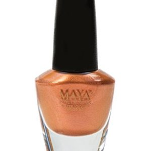 """MAYA Nail Lacquer (Pretty Penny). Breathable, Made in the USA, and """"9-FREE"""""""