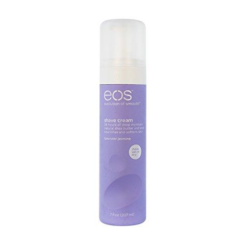 EOS Ultra Moisturizing Shave Cream, Lavender Jasmine, 7-Ounce Bottle (Pack of 3)