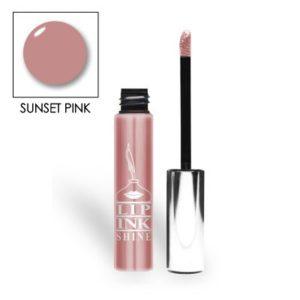 LIP INK Natural Lip Gloss Moisturizer, Sunset Pink