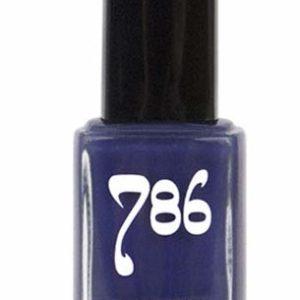 786 Cosmetics Samarkand - (Indigo) Vegan Nail Polish, Cruelty-Free, 11-Free, Halal Nail Polish, Fast-Drying Nail Polish, Best Indigo Nail Polish