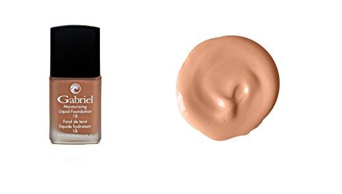 Gabriel Cosmetics, Foundation Liquid Gold Beige, 1 Fl Oz