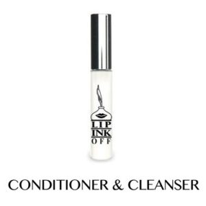 LIP INK OFF - Natural Organic Makeup Cleanser and Remover Vial (.27 fl. oz.)