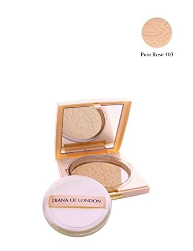Diana of London Absolute Stay Compact Powder 403 Pure Rose