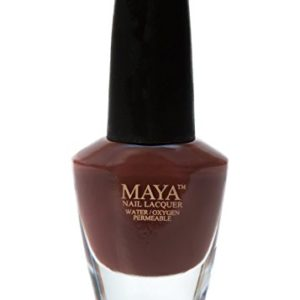"MAYA Nail Lacquer (Tamarind). Breathable, Made in the USA, and ""9-FREE"""